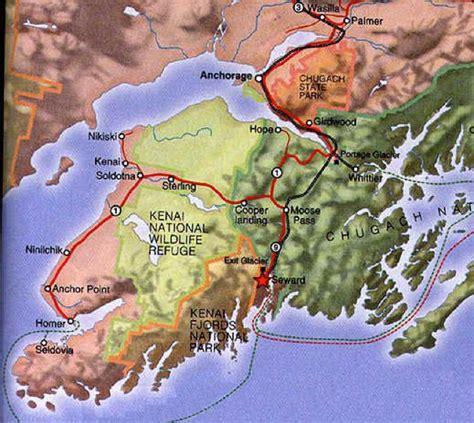 us map seward alaska getting to seward alaska