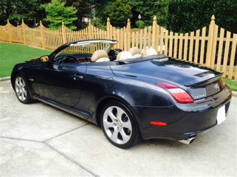 sell used 2008 lexus sc in loganville georgia united states for us 13 000 00