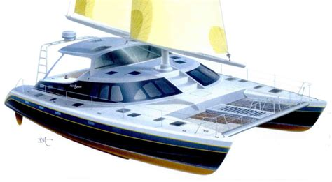catamaran cross beam design article aero design