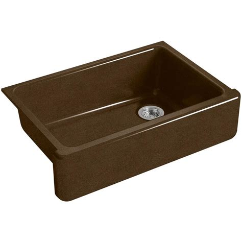 kohler farmhouse sink 33 kohler whitehaven farmhouse apron front cast iron 33 in