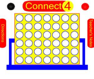 Connect Four Template by Smart Exchange Usa Connect Four Figurative Lanuage