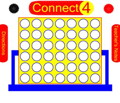 connect four template smart exchange usa connect four figurative lanuage