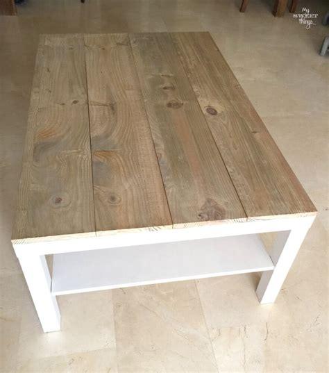 table la mesa tuneo de una mesa de centro ikea lack 183 un ikea hack