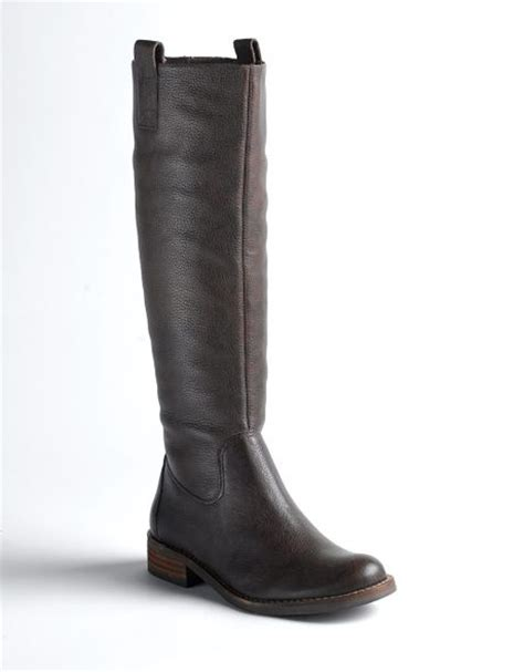 matisse colt pull on leather boots in brown brown