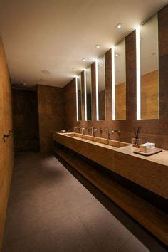 public bathroom mirror hotel public toilet indoor lighting design design
