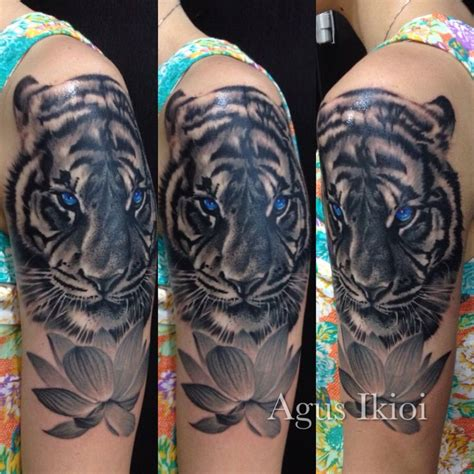 tiger lotus tattoo 19 best images on bali