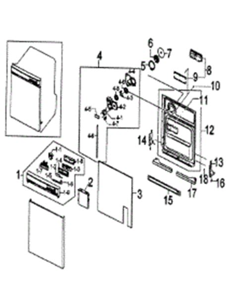 samsung dishwasher parts diagram parts for samsung dmt300rfb xaa dishwasher
