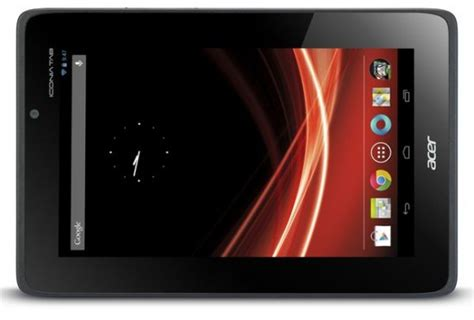 Hp Acer Android Jelly Bean acer iconia tab a110 will it ship with android jelly bean 4 1 firmware update todroid