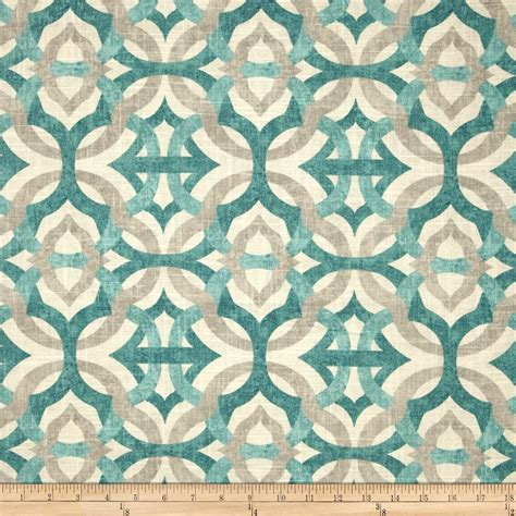 fabric for pillows and curtains waverly screen printed linen fabric com