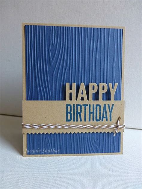 Handmade Mens Cards - 25 best ideas about masculine birthday cards on