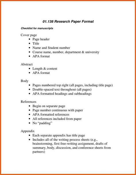 apa outline exle for research paper research paper outline apa apa exles