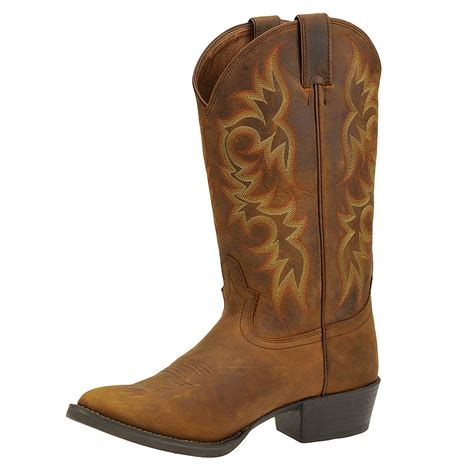 justin boots mens justin boots stede western toe s boot