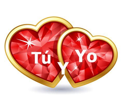 imagenes de 2 corazones unidos imagen de corazones tu y yo frases de amor pinterest