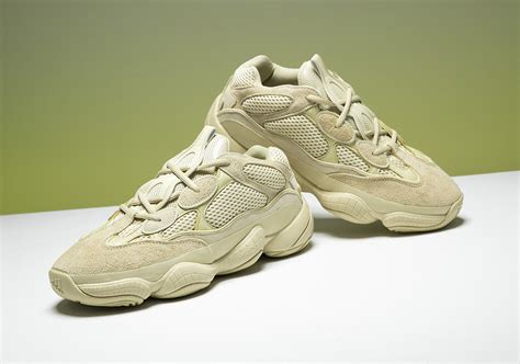 adidas yeezy 500 quot moon yellow quot release info sneakernews