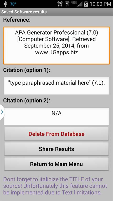 apa format outline generator apa generator professional android apps on google play