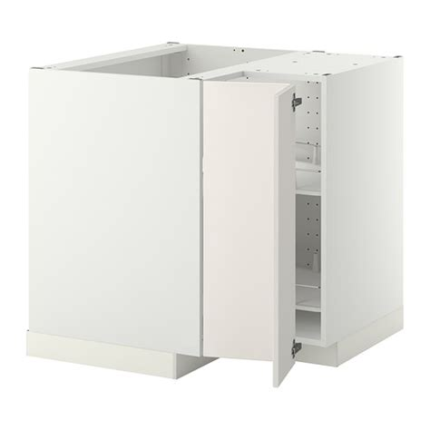 ikea bathroom corner cabinet metod corner base cabinet with carousel white veddinge