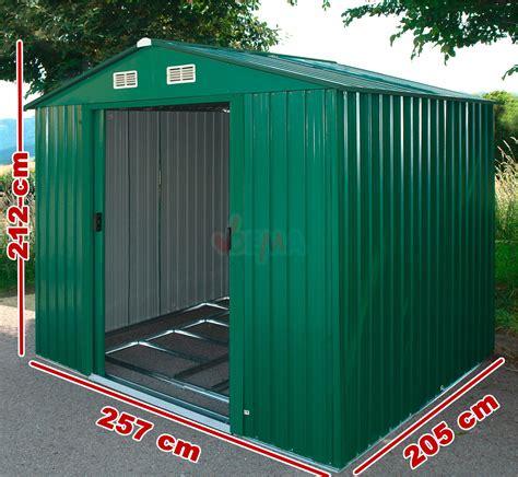 Garten Xl by Dema Metall Garten Ger 228 Tehaus Gartenhaus Xl 4 8 M 178 Ebay