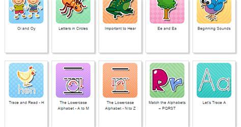 printable belajar membaca belajar bahasa inggris untuk anak membaca menulis dan