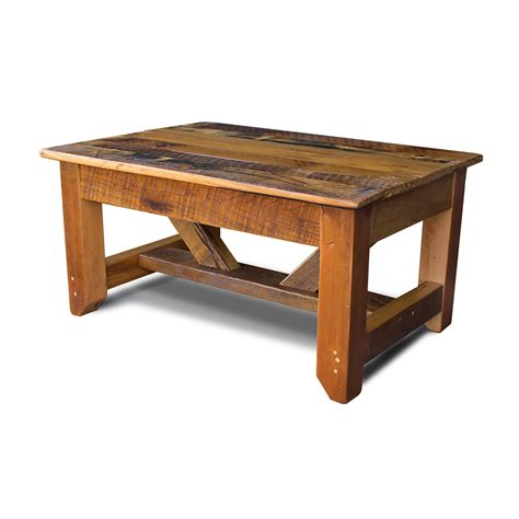 Timber Coffee Table industrial timber coffee table
