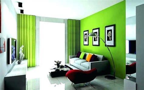 warna cat ruang tamu hijau  sejuk