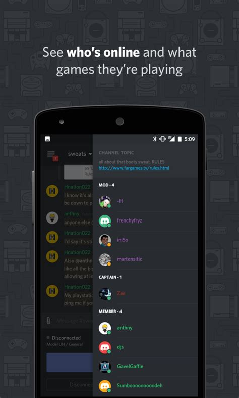 discord mobile discord chat for gamers 1mobile com