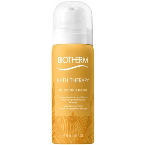 Cleansing Foam 50 Ml biotherm bath therapy delighting blend cleansing foam