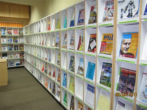 periodical section in the library definition we school library resource centre
