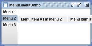 menu layout java menu layout demo menu 171 swing jfc 171 java