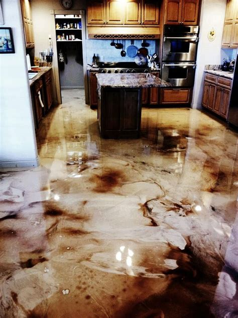 diy kitchen floor ideas 25 best ideas about epoxy floor on epoxy