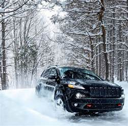 Jeep In The Snow The Country Chrysler Heavy Snow Warning Yes