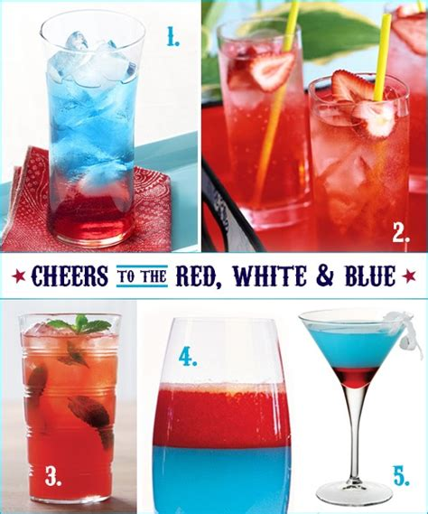 15 alcoholic drink recipes for 4th of july celebration