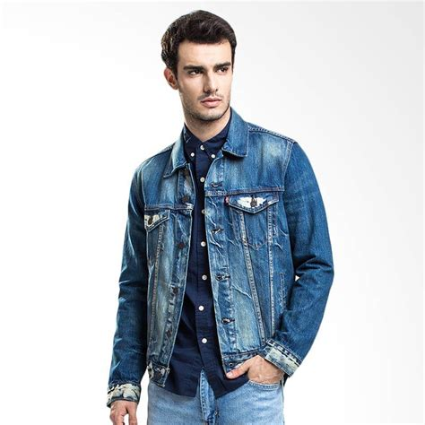 Harga Levis Denim Jacket jual levi s 72334 0140 the trucker jacket danica
