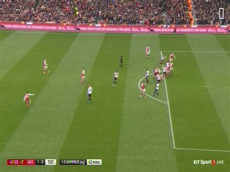 arsenal offside arsenal vs tottenham why alexis sanchez wasn t offside