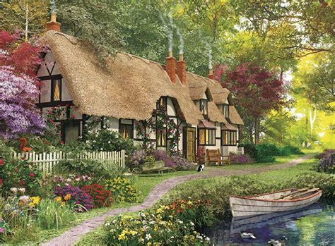 Countryside Cottage Cozy Cottage Jigsaw Puzzle Puzzlewarehouse
