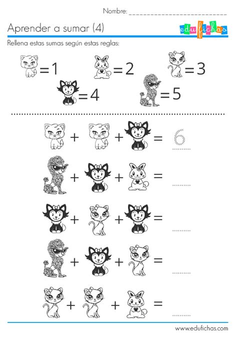 imagenes educativas fichas para contar sumas ficha para sumar sustituyendo dibujos por n 250 meros