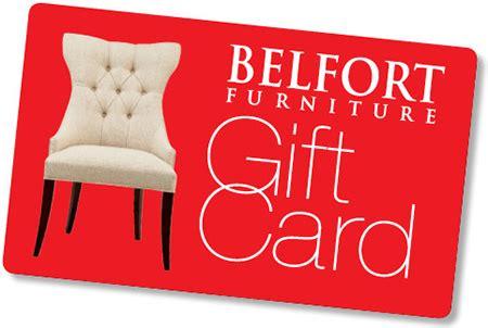 Furniture Gift Card by Gift Cards Washington Dc Northern Virginia Maryland And Fairfax Va Belfort Furniture