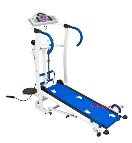 jual alat fitness treadmill manual 5 fungsi
