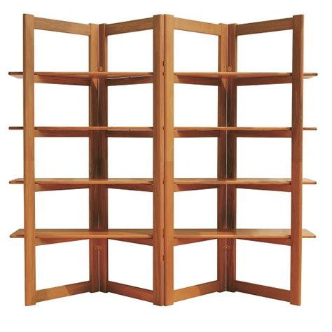 Open Bookshelf Room Divider Jacob Teak Bookcase