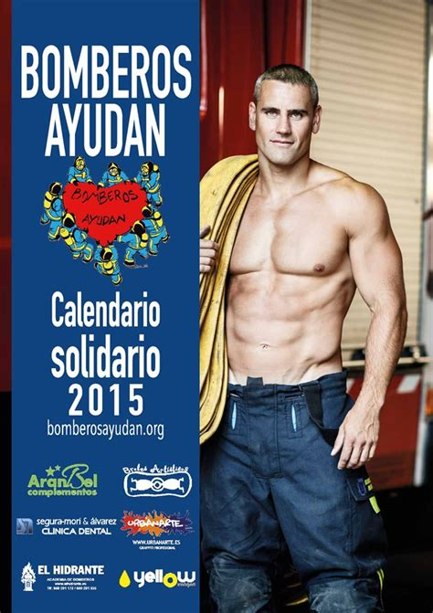 Calendario R Madrid 2015 Calendario Solidario De Bomberos De Madrid 2015