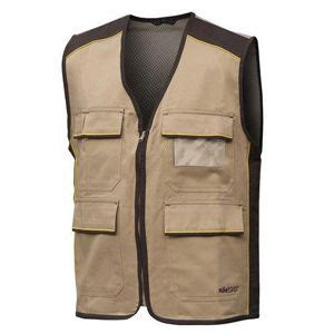 Vest Maron Bhn Spndex L chaleco beige chaleco de trabajo color beige 100