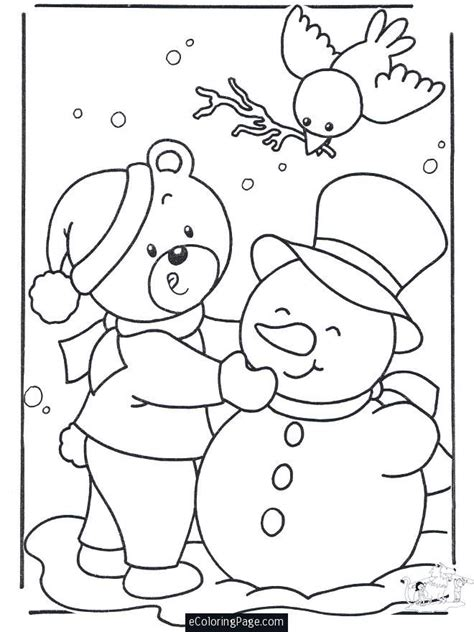 Christmas Coloring Pages Snowman Az Coloring Pages Merry Coloring Pages For
