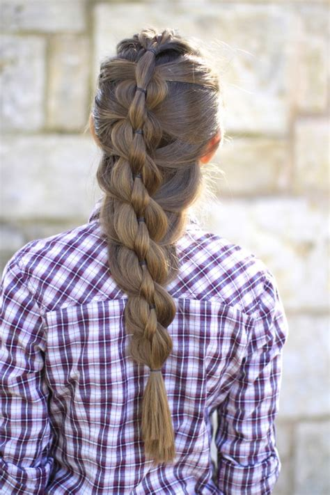 pull through braid easy hairstyles cute girls hairstyles pull through mermaid braid cute girls hairstyles