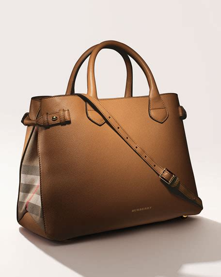 Burberry Check Canvas Tote by Burberry Leather Check Canvas Tote Bag Sand