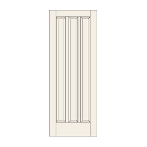 38 Interior Door by C38 Three Panel Door Craftwood Products For Builders And