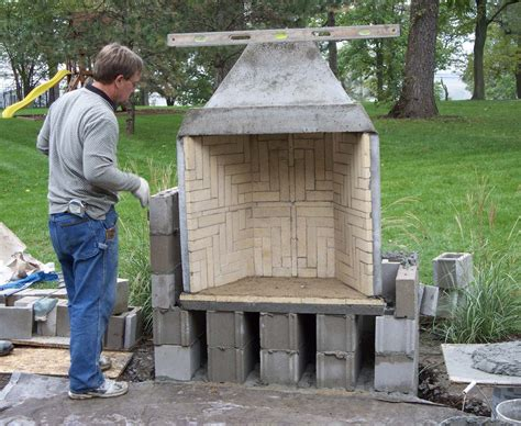Prefabricated Outdoor Fireplace Kits by Val Brotherton Creek Masonry