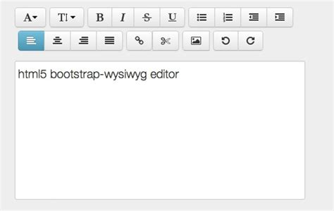 bootstrap editor tutorial twitter bootstrap html5 wysiwyg rich text editor
