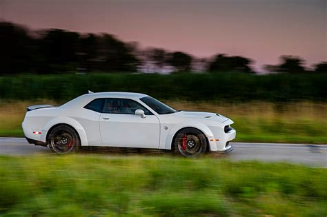 widebody hellcat white drive 2018 dodge challenger srt hellcat widebody