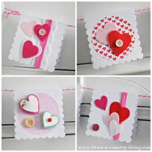 homemade valentine s day cards town amp country living