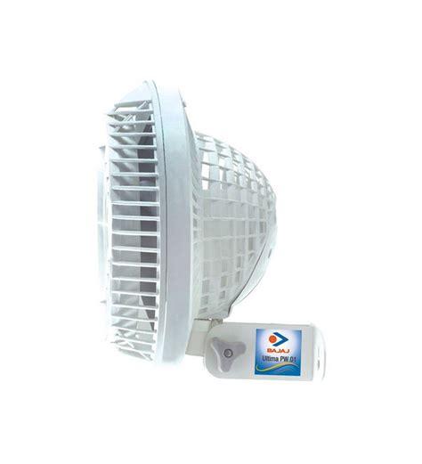 small wall mount fan bajaj ultima pw01 wall mounted fan by bajaj online wall