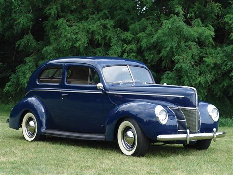 Ford Deluxe by 1940 Ford Deluxe Tudor Sedan